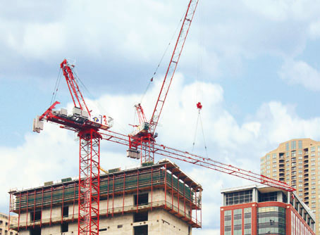 Аренда башенного крана Potain MR 605В Н32 (32 тонны)